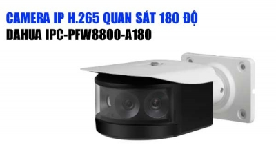 Camera IP DAHUA 8MP IPC-PFW8800-A180
