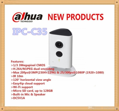 CAMERA DAHUA WIFI IPC-C35P 3MP