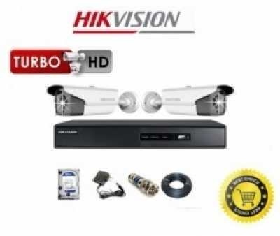 Trọn Bộ Camera Hikvision 2 Mắt